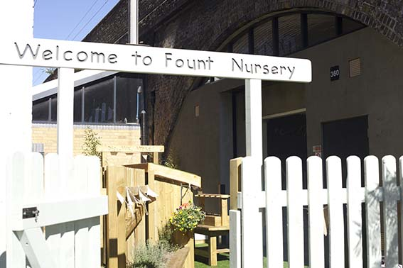 Fount nursery London
