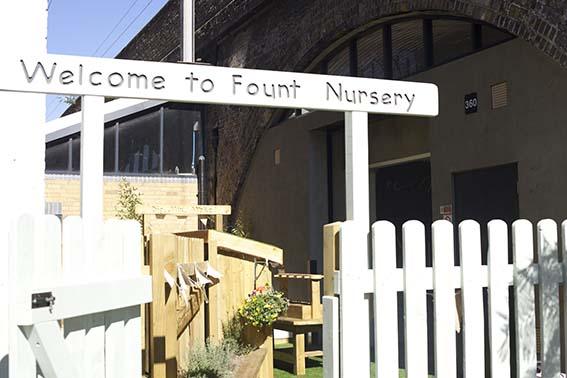 Fount nursery London
