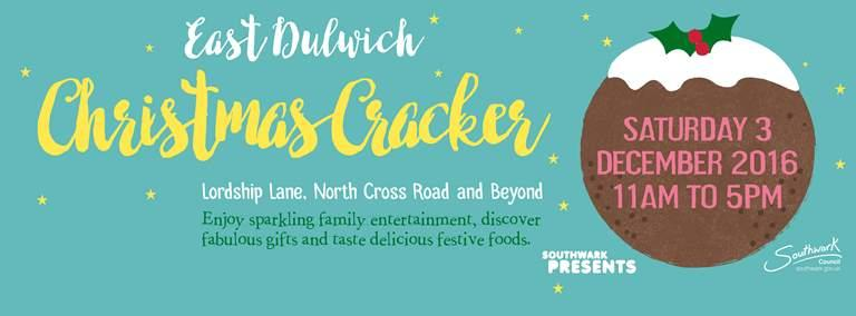 Mumspo blog east dulwich christmas cracker 2016